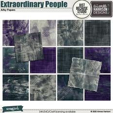 Extraordinary People Artsy Papers