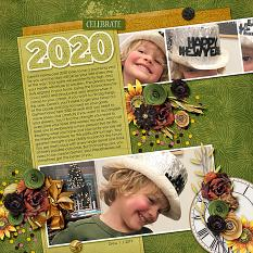 Year 2020 Templates Layout