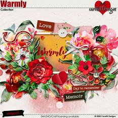 ScrapSimple Digital Layout Collection:Warmly