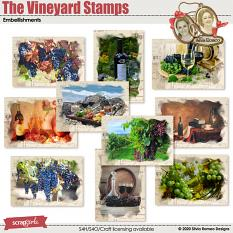 The Vineyard Stamps by Silvia Romeo