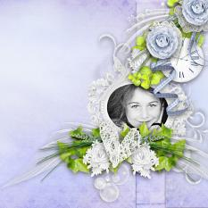 layout using Brise Matinale Collection by BeeCreation