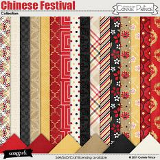 Chinese Festival by Connie Prince