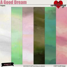ScrapSimple Digital Layout Collection:A Good Dream