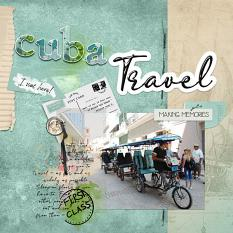 Cuba layout using Tickets, please. Artistic blends