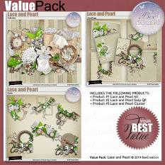 Bee Creation Lace and Pearl Value Pack
