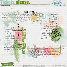Tickets, please. Artistic blends