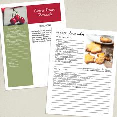 Recipe pages created using Tasty Recipe Page templates