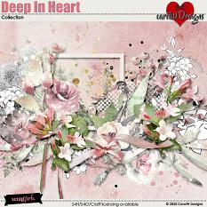 ScrapSimple Digital Layout Collection:Deep In Heart