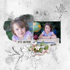 Layout using ScrapSimple Digital Layout Collection:Deep In Heart