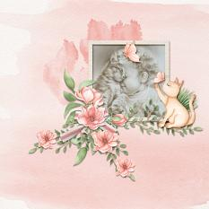 Layout using ScrapSimple Digital Layout Collection:The Cat Paradise