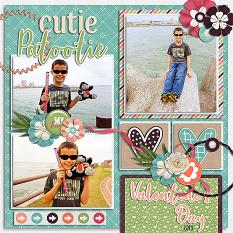 CT Layout using #2020 February By Connie Prince
