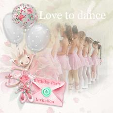 Layout using ScrapSimple Digital Layout Collection:Begin To Dance