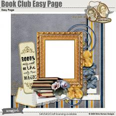 Book Club Easy Page by Silvia Romeo