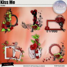 Kiss Me Cluster by BeeCreation