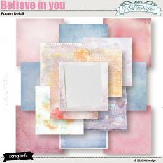 Believe in you Papers details