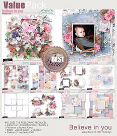 Believe in you Clusters Frames details