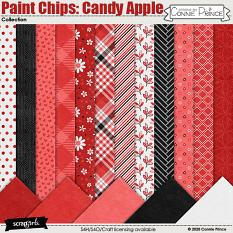 Paint Chips: Candy Apple