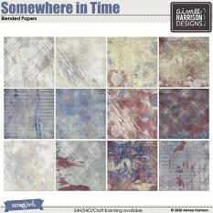 Somewhere in Time Blended Papers