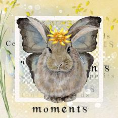 Layout using ScrapSimple Digital Layout Collection:Bunny and Flower