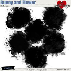 ScrapSimple Digital Layout Collection:Bunny and Flower