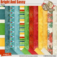 Bright And Sassy Papers by Silvia Romeo