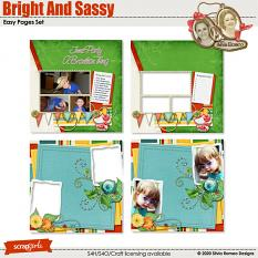 Bright And Sassy Easy Pages Set by Silvia Romeo