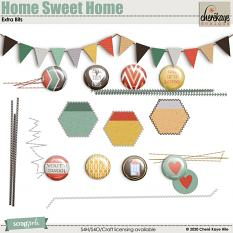 Home Sweet Home Extra Bits by Chere Kaye Designs