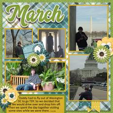 CT Layout using #2020 March By Connie Prince
