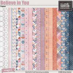 Believe in You Papers