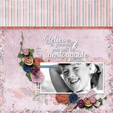 Believe in You Layout