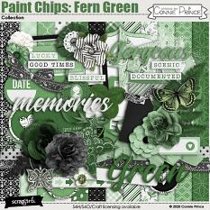Paint Chips Fern Green by Connie Prince