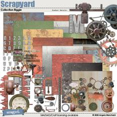 Scrapyard Collection Biggie by Angela Blanchard