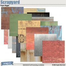 Scrapyard Papers by Angela Blanchard