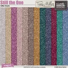 Still the One Glitter Sheets
