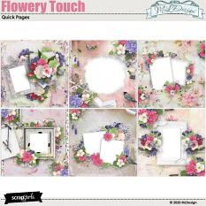 Flowery Touch Easy pages
