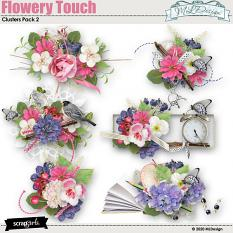 Flowery Touch Clusters Embellissments