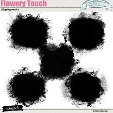 Flowery Touch Masks
