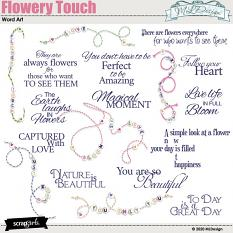 Flowery Touch Word_Art