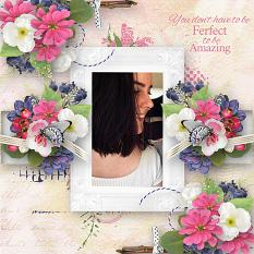 Flowery Touch Word_Art details