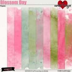 ScrapSimple Digital Layout Collection:Blossom Day