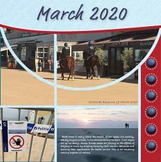 """March 2020"" digital layout features SSDLAT: Scrap It Monthly 6, Series 2"