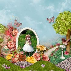 Antique Gardens Layout by Silvia Romeo