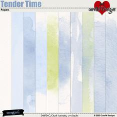ScrapSimple Digital Layout Collection:Tender Time