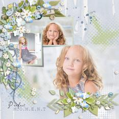 Layout using ScrapSimple Digital Layout Collection:Tender Time