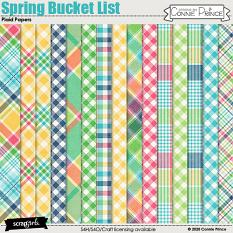Spring Bucket List by Connie Prince