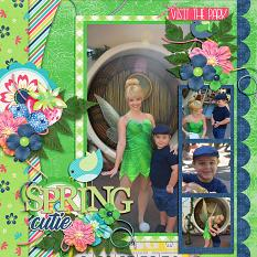CT Layout using Spring Bucket List by Connie Prince