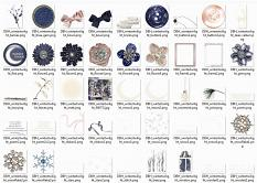 Elements from the Winter Twilight Collection by Designs by Helly