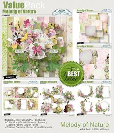 Melody of Nature Easy Pages details
