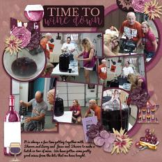 CT Layout using Pics Galore Volume 20 12x12 Templates by Connie Prince