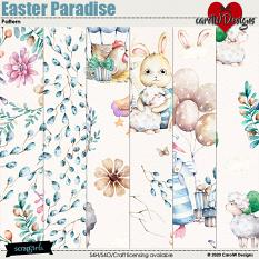 ScrapSimple Digital Layout Collection:Easter Paradise